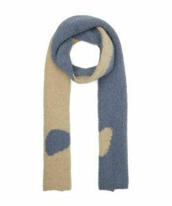 Coco Ying Yang Intarsia Knit Scarf