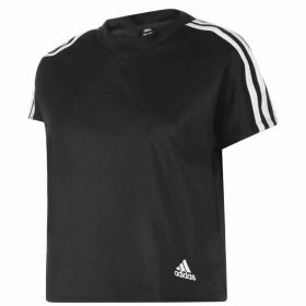 adidas adidas Attitude T Shirt Ladies - Black
