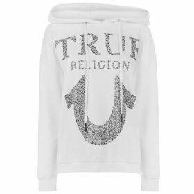 True Religion Crystal Hoodie - White 1700