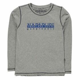 Napapijri Sion T Shirt - Med Grey