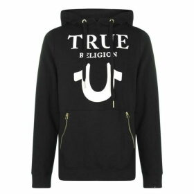 True Religion Horseshoe Zip Hoodie - Black