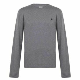 Jack Wills Dunsford Long Sleeve T-Shirt - Grey Marl