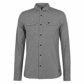 Firetrap DgLS Shirt Sn94 - White/Black