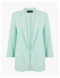 M&S Collection Relaxed Patch Pocket Blazer