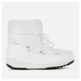 Moon Boot Women's Low Nylon Waterproof 2 Boots - White - EU 40/UK 7