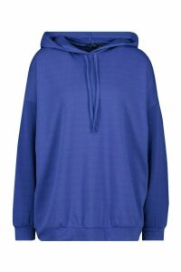 Womens Oversized Hoodie - blue - M, Blue