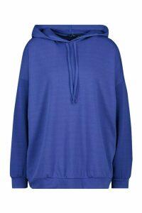 Womens Oversized Hoodie - Blue - L, Blue