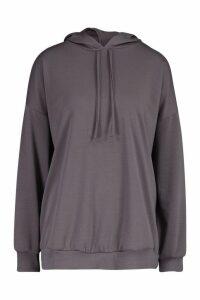 Womens Oversized Hoodie - grey - M, Grey