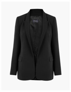 M&S Collection Open Front Blazer
