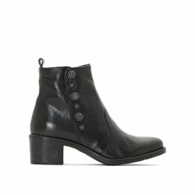 Flyn Leather Ankle Boots