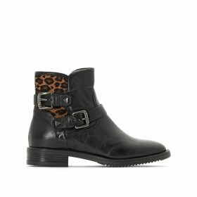 Zarko Leather Ankle Boots