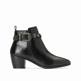 Evana Smooth Leather Boots
