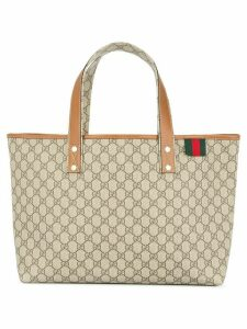 Gucci Pre-Owned GG Shelly Line tote bag - NEUTRALS
