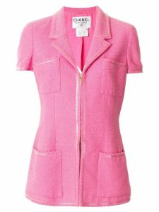Chanel Pre-Owned 1995 short-sleeved two-piece suit - PINK