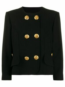 Christian Lacroix Pre-Owned 1990s double-breasted jacket - Black