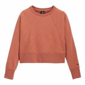 Short Sweatshirt Dry Get Fit Round Neck