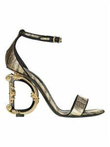 Dolce & gabbana Sculpted Heel Sandals