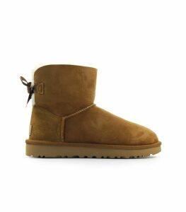 Ugg Chestnut Mini Bailey Bow Boot