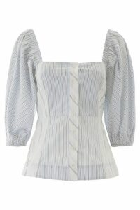 Ganni Striped Shirt