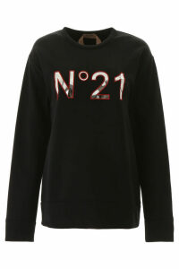 N.21 Sweatshirt With Logo Patch