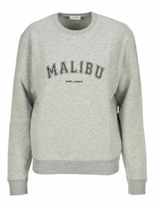 Saint Laurent malibu Print Sweatshirt