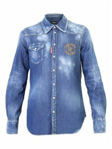 Dsquared2 Embroidered Shirt