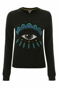 Kenzo Sweatshirt With Eye Embroidery