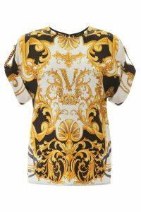 Versace Barocco Femme Print Blouse