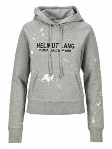 Helmut Lang Slpatter Effect Hoodie