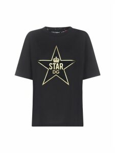 Dolce & Gabbana Logo Star Short Sleeve T-shirt