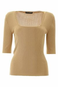 Dolce & Gabbana Lurex Knit Top