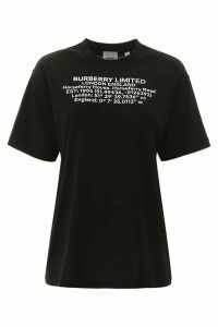 Burberry Carrick T-shirt With Coordinates