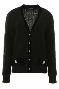 Miu Miu Cardigan With Crystals