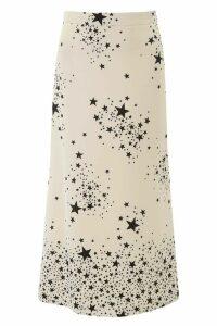 Miu Miu Stars Print Midi Skirt
