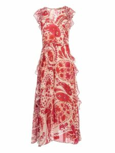 TwinSet Long Dress W/print