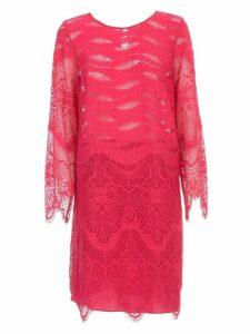 TwinSet Dress L/s W/lace