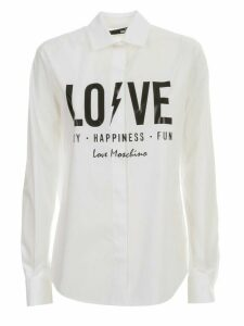 Love Moschino Shirt L/s W/written
