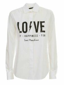 Love Moschino Shirt L/s W/written