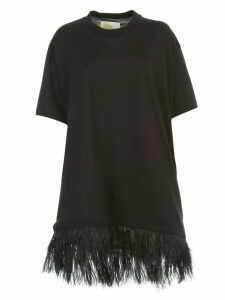 MarquesAlmeida T-shirt S/s Feather Hem