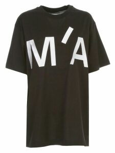 MarquesAlmeida T-shirt S/s Logo Embroidered