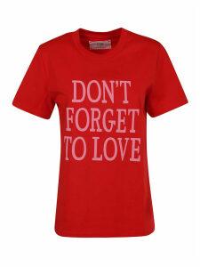 Alberta Ferretti Organic Jersey T-shirt