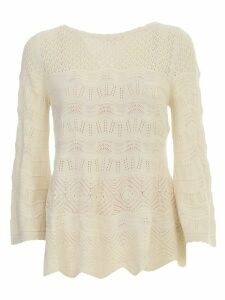 TwinSet Sweater L/s W/lace