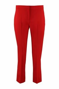 Alexander McQueen Wool Tailored Trousers