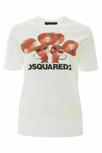 Dsquared2 Mouses Print T-shirt