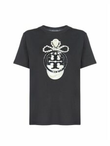Tory Burch Logo Short Sleeve T-shirt