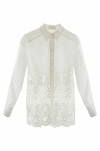 See by Chloé Shirt With Floral Embroidery