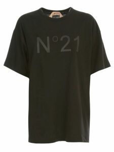N.21 Oversized T-shirt S/s Crew Neck W/logo