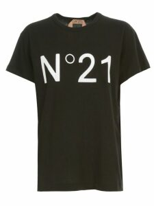 N.21 Regular Logo T-shirt S/s Crew Neck