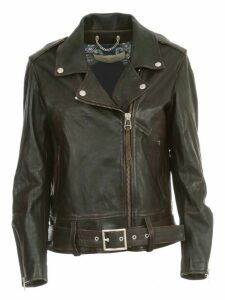 Golden Goose Leather Jacket Victoria