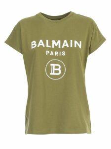 Balmain T-shirt S/s Glitter Logo
